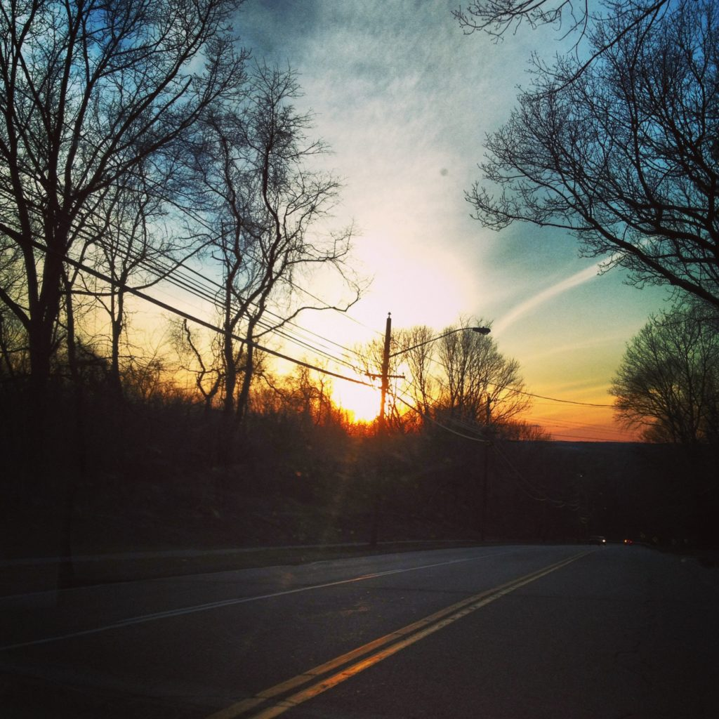 Sunset in Connecticut