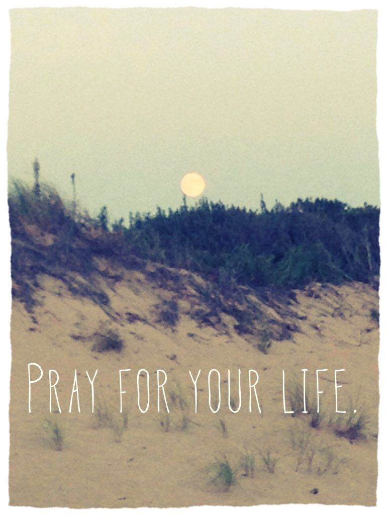 pray for your life
