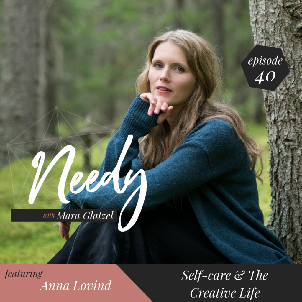 Needy Podcast interview with Anna Lovind