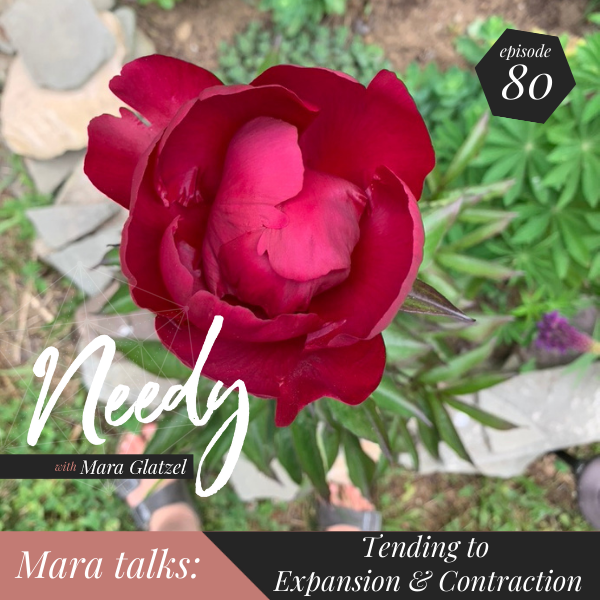 Tending to expansion and contraction, a Needy podcast episode featuring host Mara Glatzel